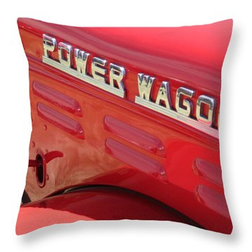 Power Wagon Throw Pillow