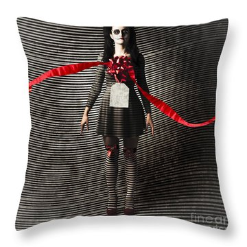Price Of Life And Death Throw Pillow