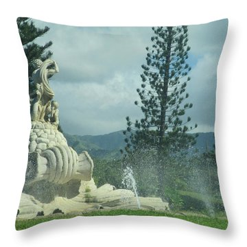 Throw Pillow featuring the photograph Princeville by Alohi Fujimoto