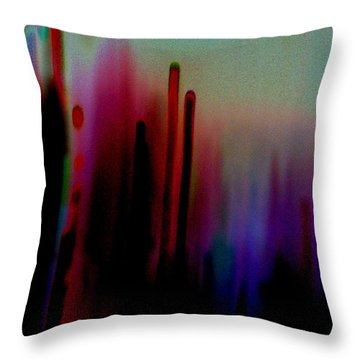 Throw Pillow featuring the photograph Pulse by Jacqueline McReynolds