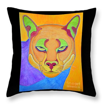 Puma 1 Throw Pillow