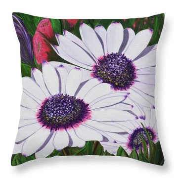 Purple Punch Throw Pillow
