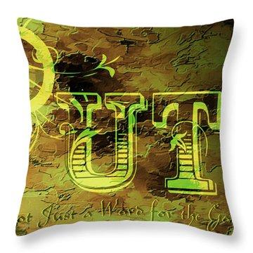 Putz Throw Pillow by EricaMaxine  Price