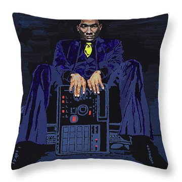 Q-tip Throw Pillow