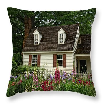Quaint  Throw Pillow by Shari Nees