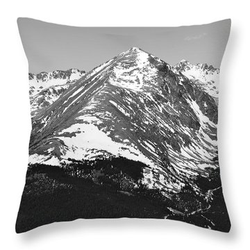 Quandary Peak Throw Pillow
