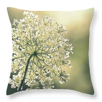 Quiet Moment Throw Pillow by France Laliberte