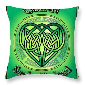 Quinn Soul Of Ireland Throw Pillow