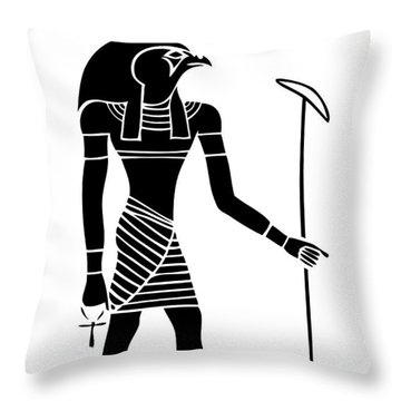 Ra - God Of The Sun Throw Pillow