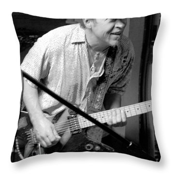 Randy Throw Pillow by Jesse Ciazza