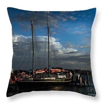 Ready To Sail Throw Pillow