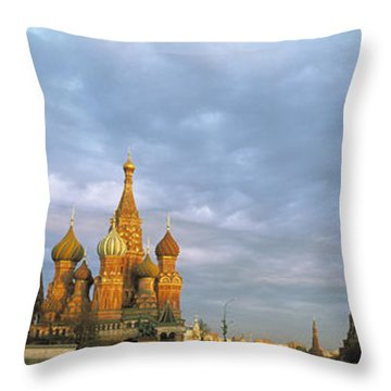 Red Square Moscow Russia Throw Pillow