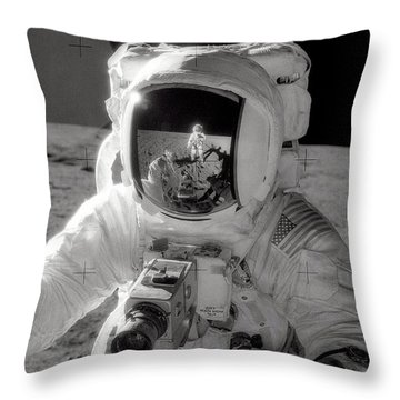 Reflecting Throw Pillow by Jon Neidert