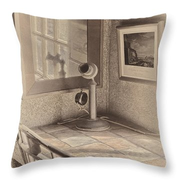Reflections Throw Pillow by Susan Candelario