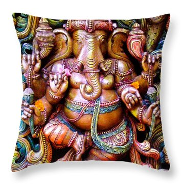 Remover Of Obstacles Throw Pillow