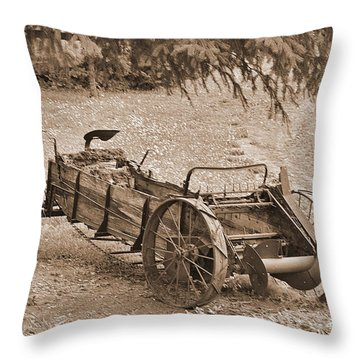 Retired But Ready Throw Pillow