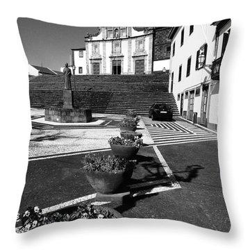 Ribeira Grande Throw Pillow by Gaspar Avila