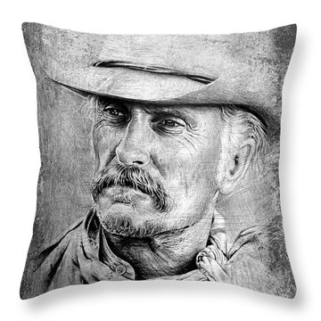 Robert Duvall Throw Pillow