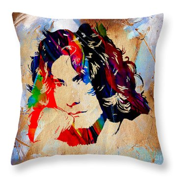 Robert Plant Collection Throw Pillow