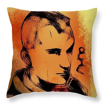Taxi Driver Throw Pillow by Nuno Marques