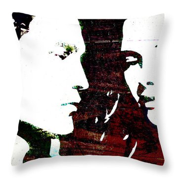 Robsten Throw Pillow by Svelby Art