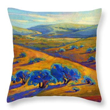 Rolling Hills 1 Throw Pillow