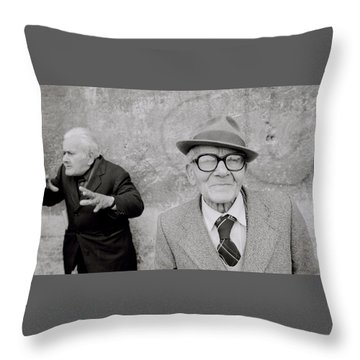 Style Of Italy Throw Pillow by Shaun Higson
