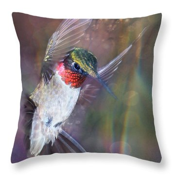 Ruby Freeze Frame Throw Pillow