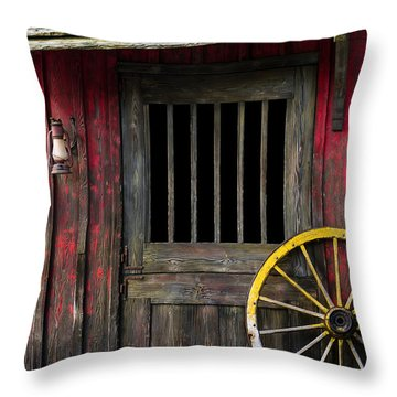 Rural Western Throw Pillow