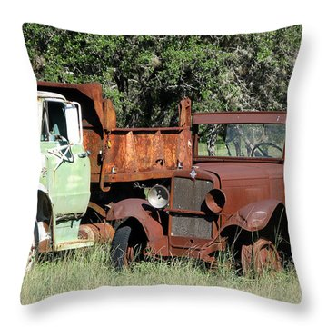 Rust In Peace No. 1 Throw Pillow