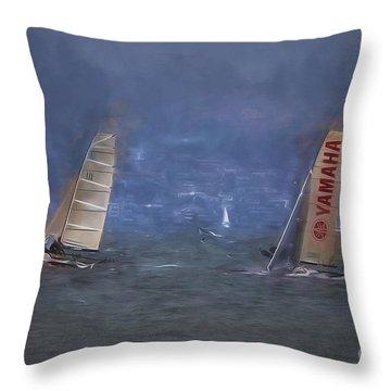 Sailing  ... Throw Pillow