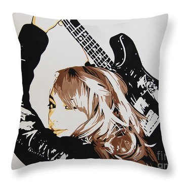 Samantha Fish Throw Pillow