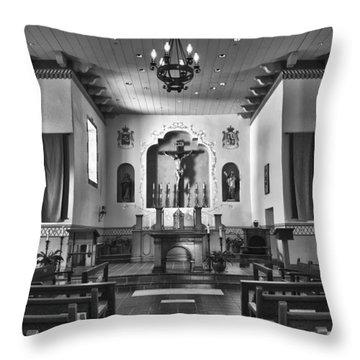 Throw Pillow featuring the photograph San Carlos Cathedral by Ron White