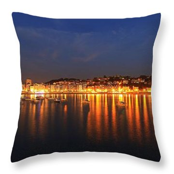 Throw Pillow featuring the photograph San Sebastian 26 by Mariusz Czajkowski