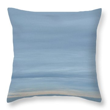 Throw Pillow featuring the photograph Sandy Hook by Steven Richman
