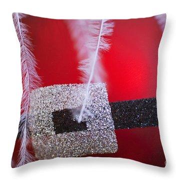 Santa Claus Ornament Throw Pillow by Birgit Tyrrell