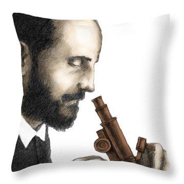 Santiago Ramon Y Cajal, Scientist Throw Pillow