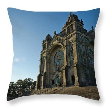 Santuario Do Sagrado Coracao De Jesus Throw Pillow