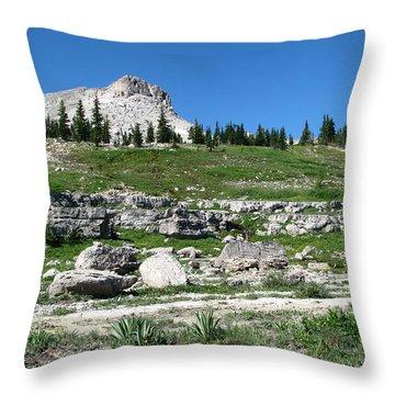 Scapegoat Amphitheater Throw Pillow
