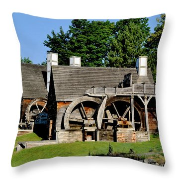 Scenic Iron Works Throw Pillow