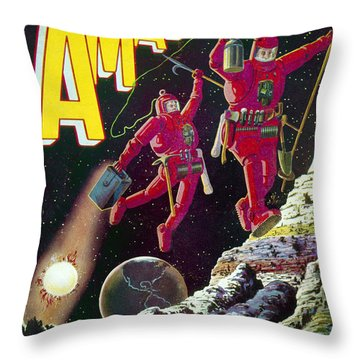 Science Fiction Cover 1929 Throw Pillow by Granger