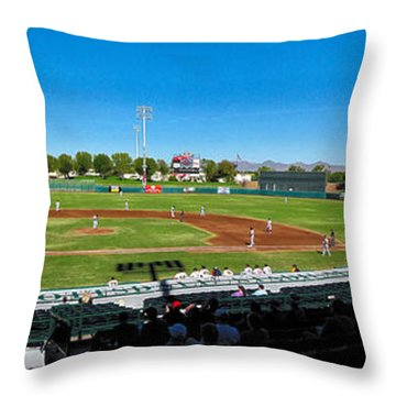 Scottsdale Stadium Throw Pillow