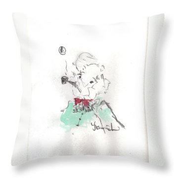 Scrooge Throw Pillow