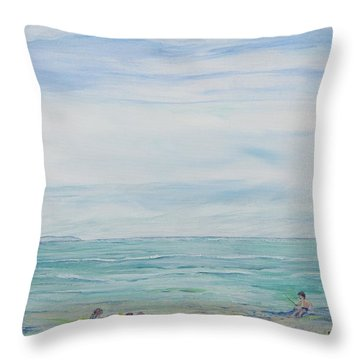 Seabreeze Beach Throw Pillow