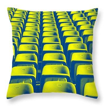 Seats Throw Pillow