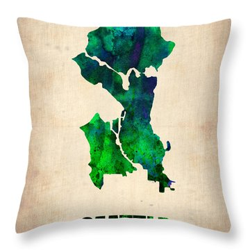Designs Similar to Seattle Watercolor Map