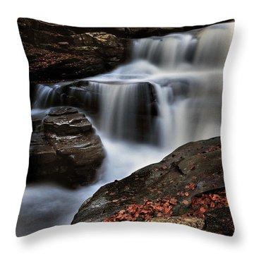 Secret Waterfall Throw Pillow
