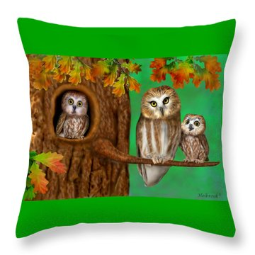 Serendipity Throw Pillow by Glenn Holbrook