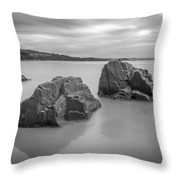 Seselle Beach Galicia Spain Throw Pillow