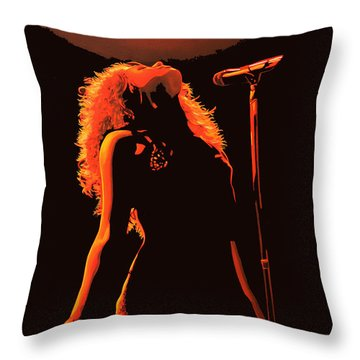 Shakira Throw Pillows
